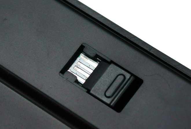 Receiver storage compartment
